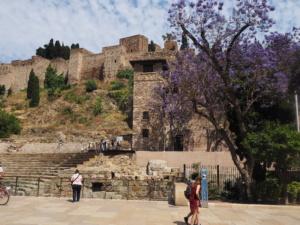 Entrada a La Alcazaba, Málaga