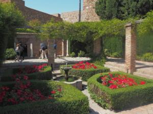 Jardines en La Alcazaba, Málaga