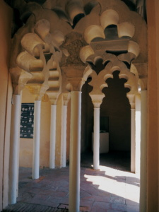 Arquitectura árabe, La Alcazaba de Málaga