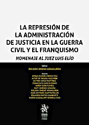 """Portada libro """"Represión...Juez Elío"""""""