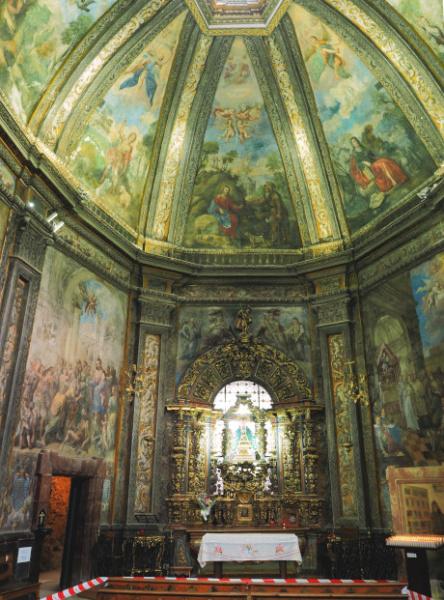 Interior Ermita de San Saturio_2